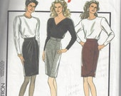 Style 1450 Short Wrap Skirt Sewing Pattern Size 12-14-16