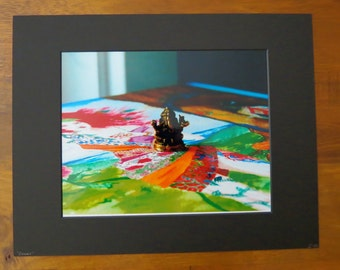Colors- Matted Photography Print