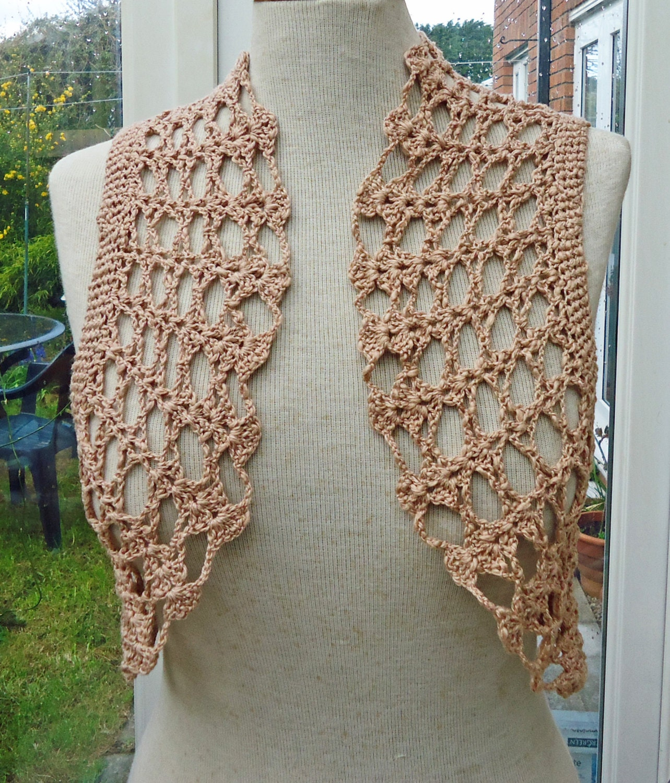 beige crochet bolero cotton bolero jacket crochet lace. Black Bedroom Furniture Sets. Home Design Ideas