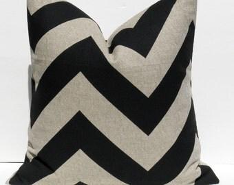 Decorative Pillows  - Throw pillow Covers - Accent Pillows - Throw Pillows  -  Black Pillow - Pillows -  Burlap Pillows - Pillows  - Cushion