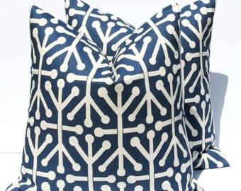 Decorative Pillows - Blue Pillow - Blue Pillow Covers - Throw Pillow Covers - Pillows - Pillow - Accent Pillow - Cushion Covers -  20x20