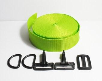 belt strap bag kit exchangeable lemongreen, 4 cm depth