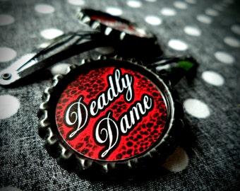 Simply Deadly hair clips