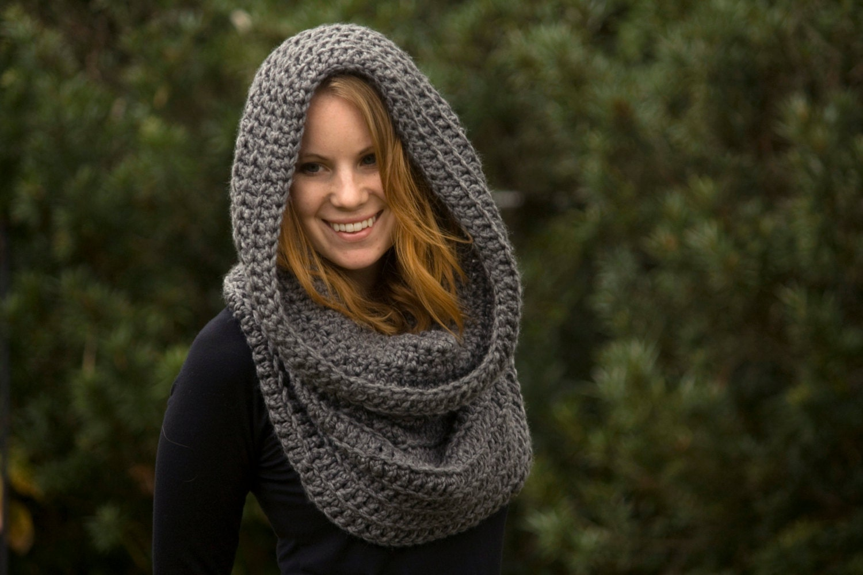 Oversized Hood Knitting Pattern : free crochet scoodie pattern free scarf pattern free ...