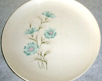 Vintage Taylor Smith & Taylor Boutonniere 1962 Set of 4 Dinner Plate Made in the USA Every Yours China Plate