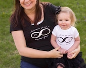 Mommy and Me Shirt Set - 1000 years. **This shirt style is SOLD OUT in 3XL.  A black ladies cut crew neck tee will be shipped in its place.