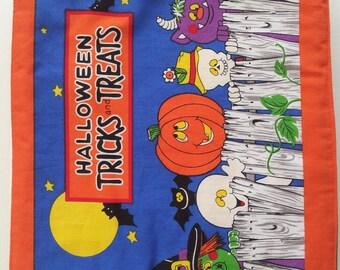 Halloween Tricks and Treats Quiet Book