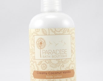 Creamy Coconut Vanilla Body Lotion - 8 oz