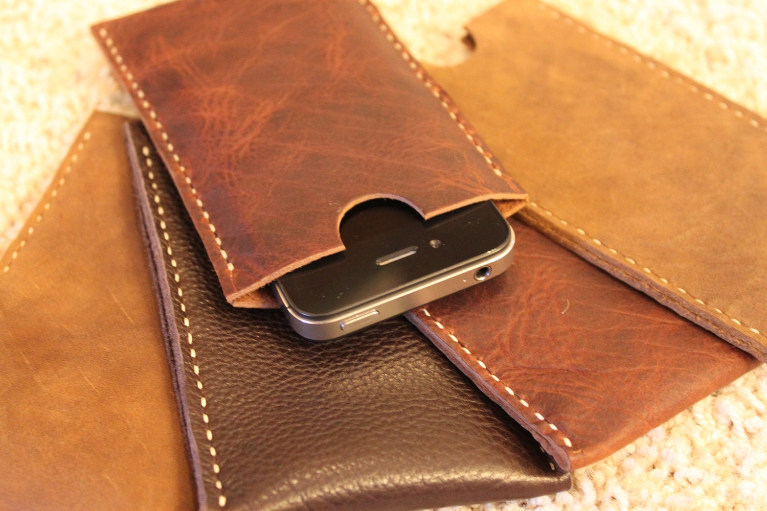 leather iphone case handcrafted in usa leather iphone 5 5s 5c or se 12563