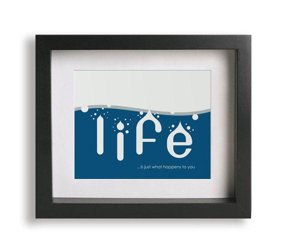 Beautiful Boy / John Lennon inspired song lyric art - home decor, wall decor, living room, bedroom decor, wall art, unique, gift idea