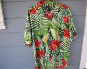 Vintage 100% CottonHawaiain Shirt