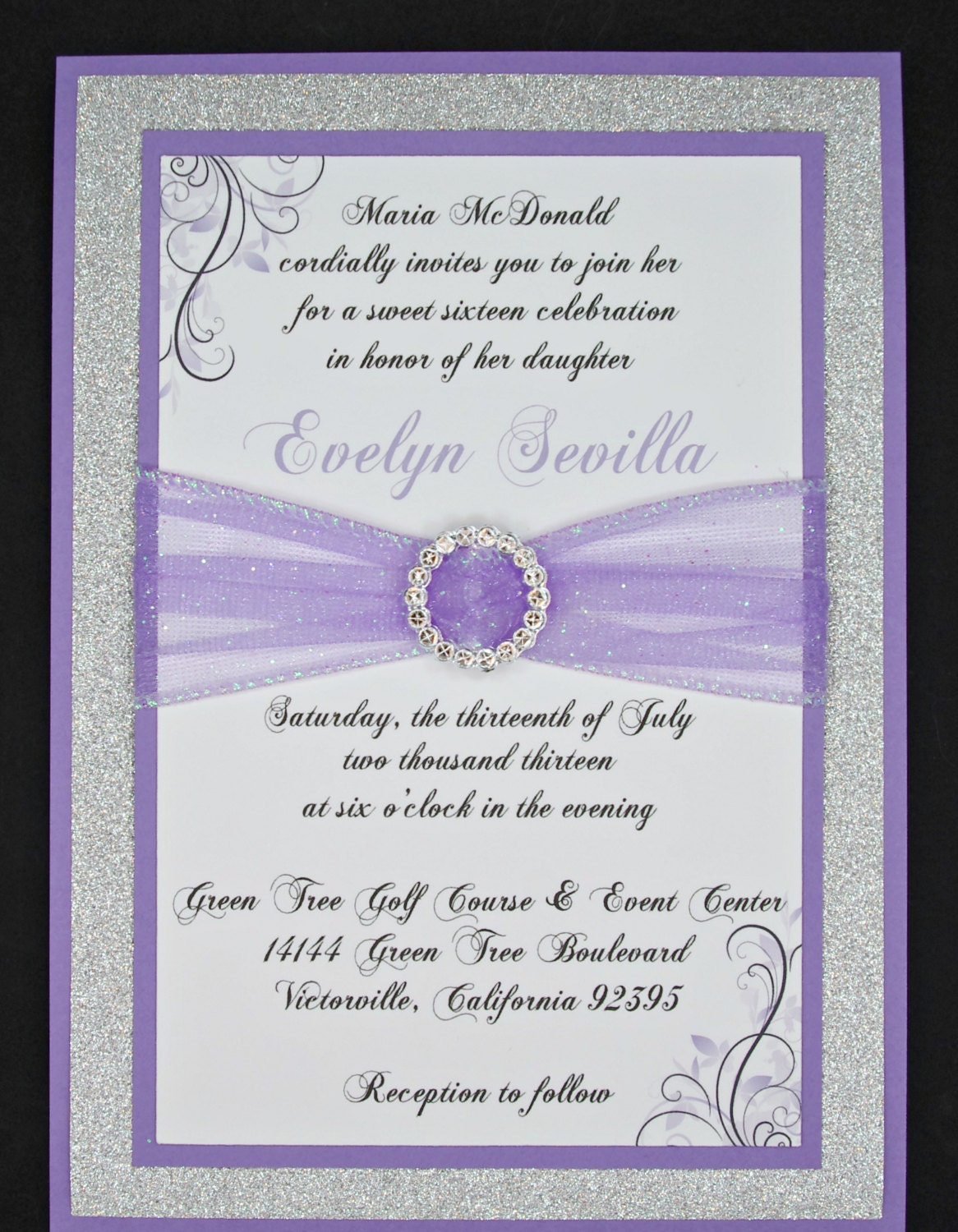 Custom Made Quinceanera Invitations is perfect invitations template
