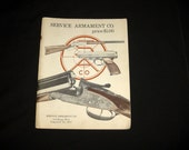 1960's Service Armament Gun & Weapons Catalog, Extensive Listings in 144 Pages