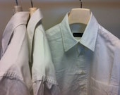 3 Man Gucci white shirts stock