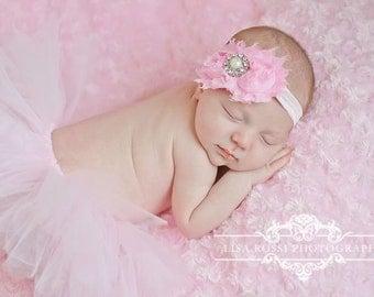 Newborn photo prop, pink tutu set,  Newborn Tutu, Baby Tutu, Tutu Set, Newborn Tutu Set,baby Pink Tutu, Photo Prop, Pink Tutu, pink tutu set