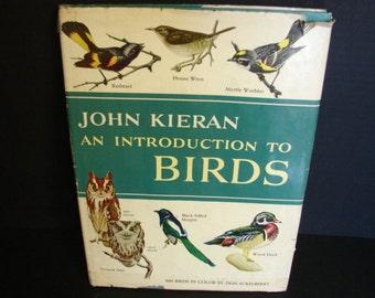 An Introduction to Birds by John Kieran Beginning Bird Watching Vintage Charm