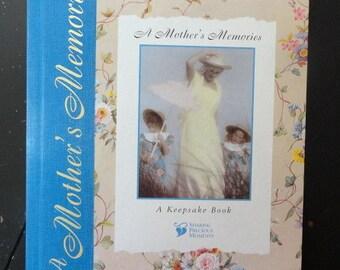 Vintage Mothers Journal | Keepsake Book | Book of Memories | Gift for Mother | Blank Book