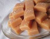 8 oz. Salted or Unsalted Wrapped  Soft Sea Salt Caramel Candies Approx. 15 Pieces