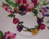 Lily of the Valley Antique Bracelet