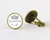 Customizable Cuff Links, Bronze cufflinks, Fathers Day Gift, For Dad, For him, Mens Jewelry, Personalised gift