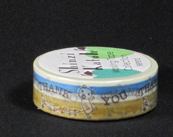 Shinzi Katoh Deco Masking Tape Thank You - Japanese Masking Tape