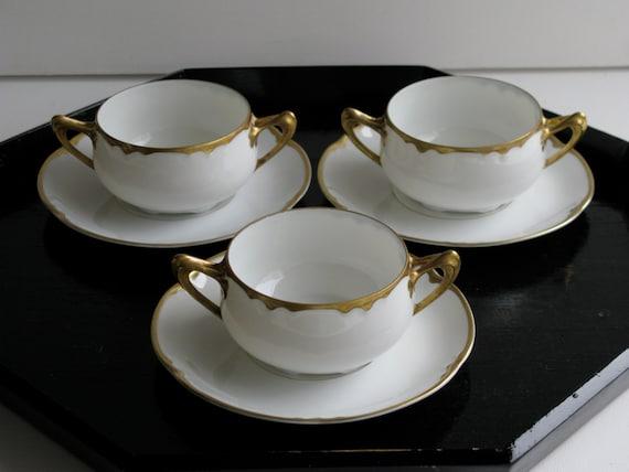 vintage cup saucer hutschenreuther bone china alice. Black Bedroom Furniture Sets. Home Design Ideas