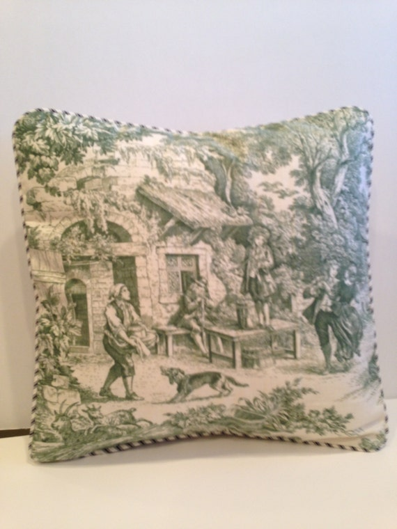 Dance Toile Pillow Cover - Silk of the Trade