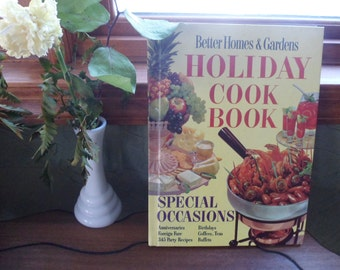 Better Homes and Gardens Holiday Cookbook, 1959, Special Occasions Cook Book