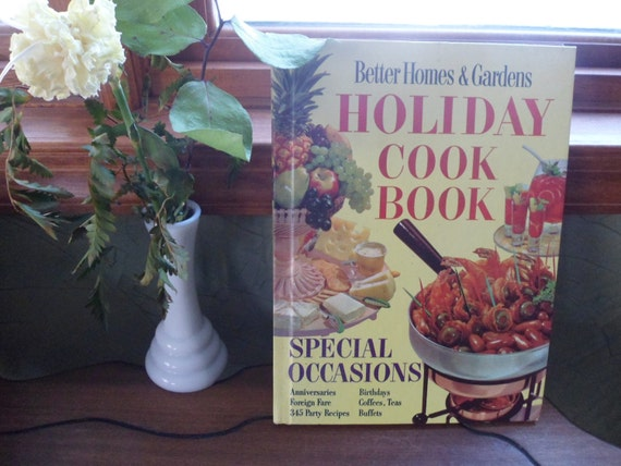 Better homes and gardens holiday cookbook 1959 special Better homes and gardens christmas special