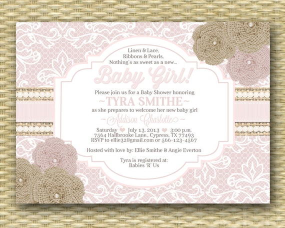 Sip And Shop Invitation for amazing invitation layout