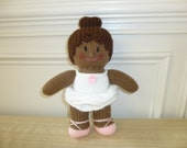 Ballerina Doll - Soft Toy - Recital - Knitted