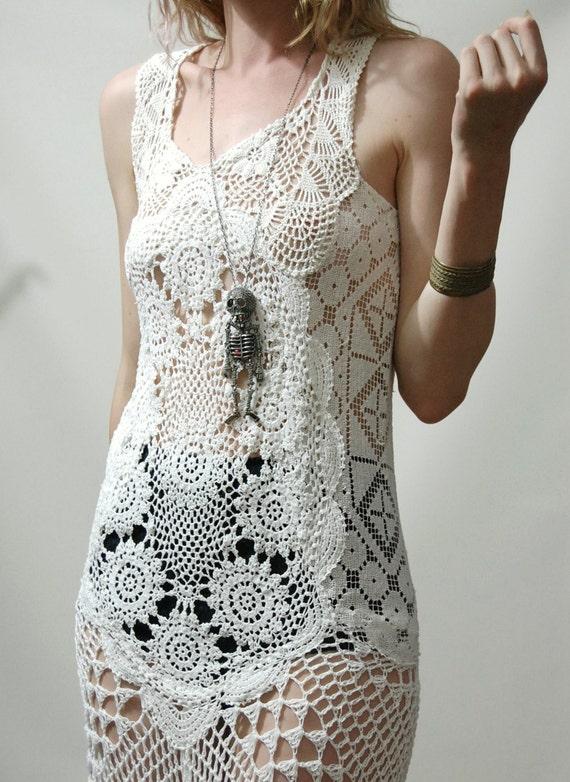 Crochet vestidos y patrones - Imagui