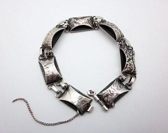 Vintage Polish Modernist Bracelet by ORNO (1970s)
