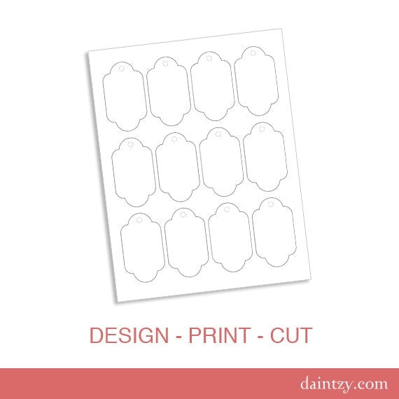 Diy Gift Tags Templates  Free Printable Diy Bag Tag Template