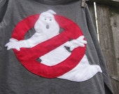 NO GHosts Around Here Kids T shirt Ghostbusters