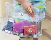 Chiara Transparent Bag