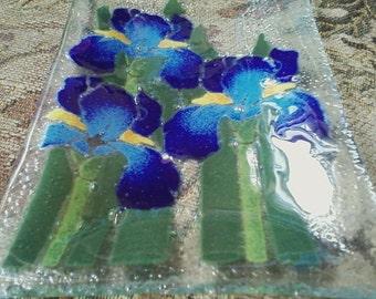 SALE Iris Plate