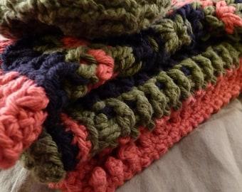 Crochet Dishcloths-Set of Four