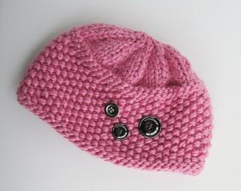 Knitting Pattern For Pillbox Hat : Knit pillbox hat Etsy