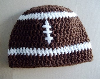 Babies Football Beanie, you pick the size