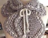 Knitting Pattern-Lace Neck Snuggle, knit lace scarf pattern, knit lace neck wrap pattern, Cascade Dolce, Kid Seta, PDF pattern