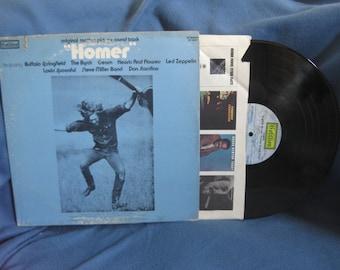 "RARE Vintage, ""Homer"" Original Soundtrack, Vinyl LP, Record Album, Original Cotillion First Press, Led Zeppelin, Cream, Psych"