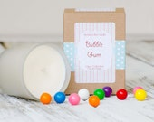 Bubble Gum Soy Candle// Fragrant Candle //
