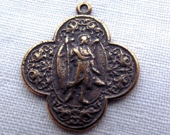 Bronze St Raphael the Archangel Medal VP1011