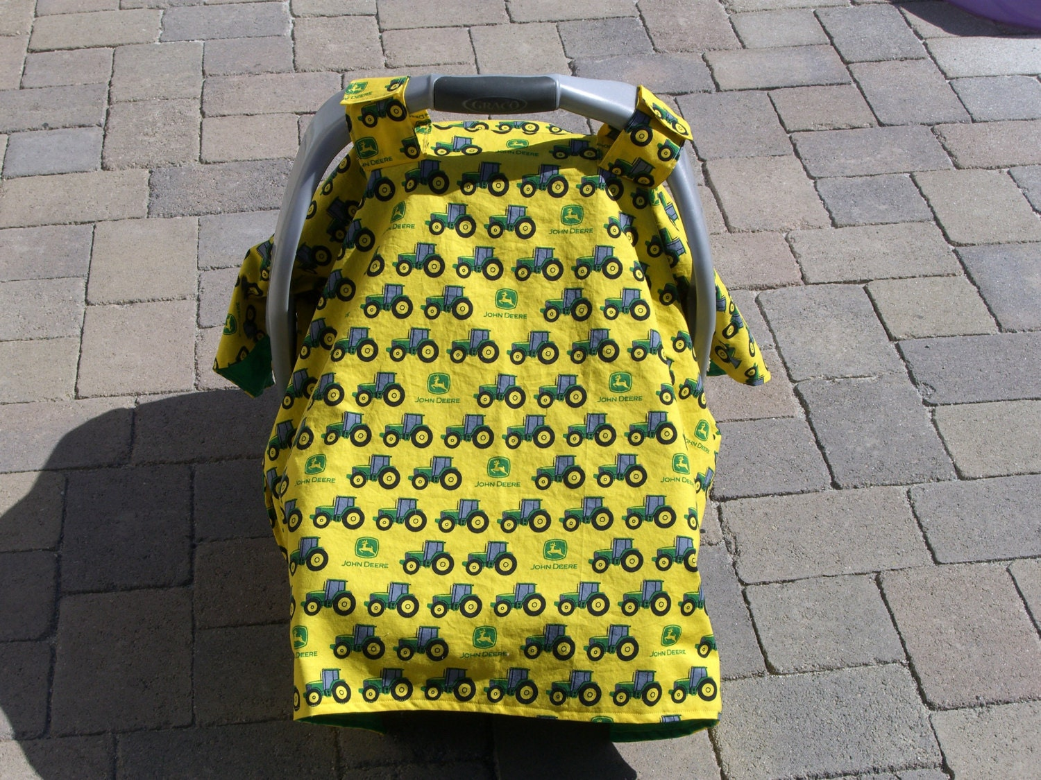 John Deere Car Seat Covers : Car seat canopy john deere cover