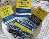 Vintage Lot of Sheaffer's Eraser and Lead Tins Office Supplies