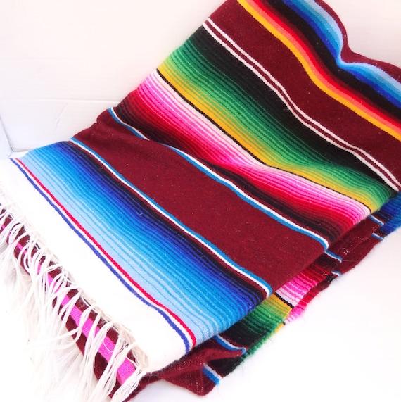 Vintage Mexican Blanket 108