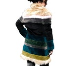 Handcrafted Synthetic Colorful Fur, SIBERIA