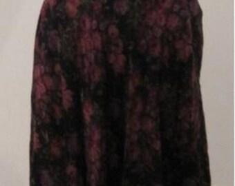 Women's Vintage Long Skirt Size 12