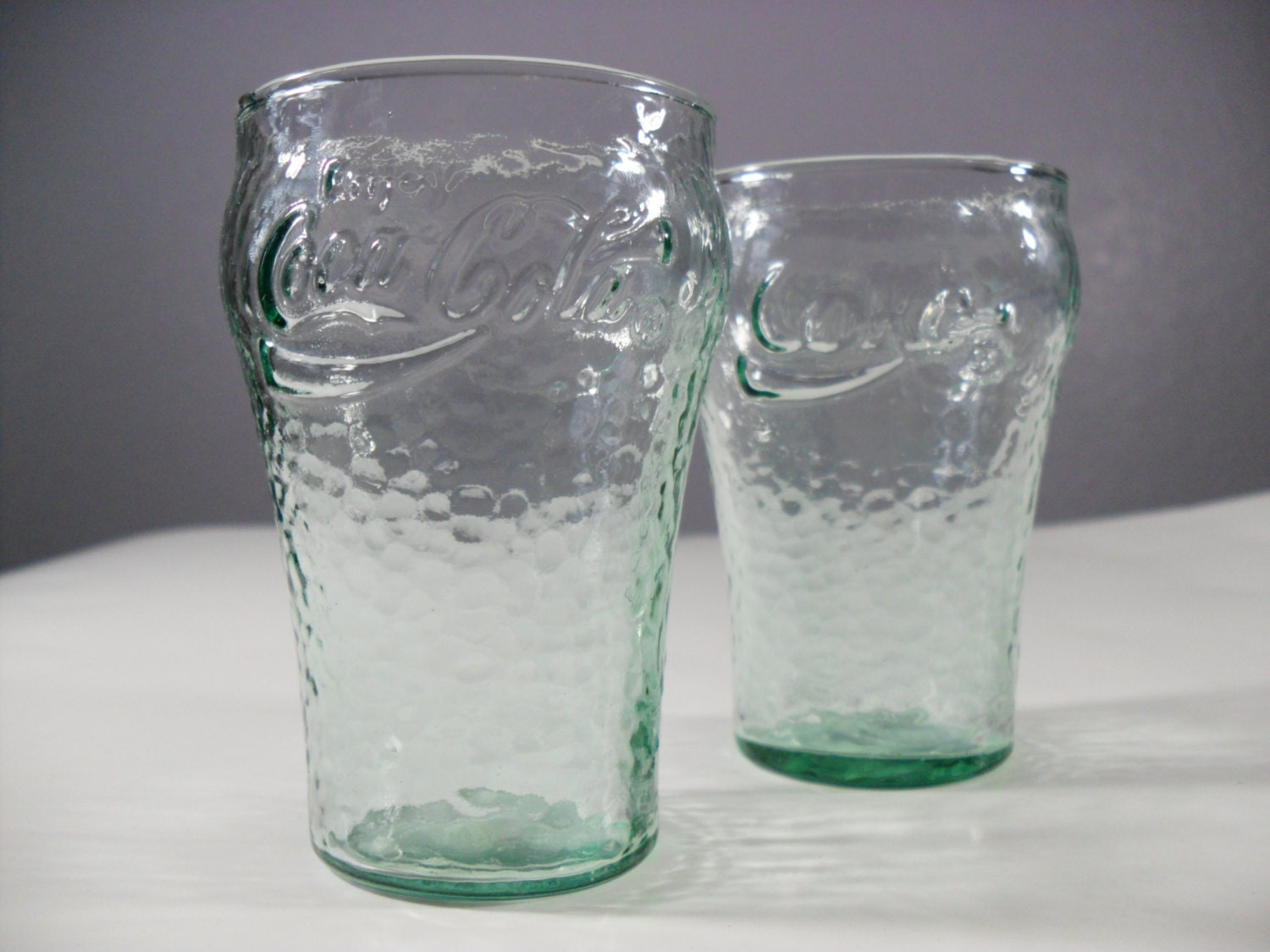 Vintage Coke Glasses 120